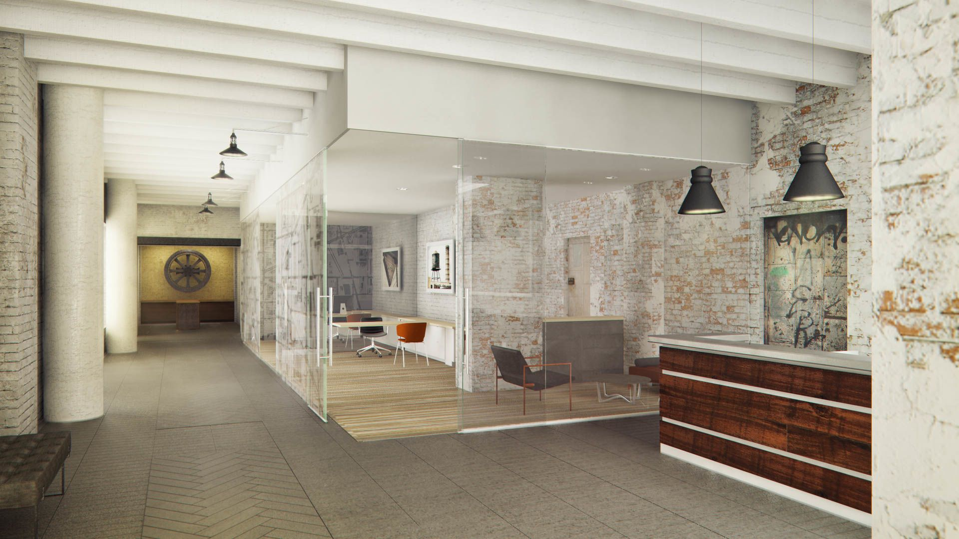 455 Eye Street Apartments - Lobby