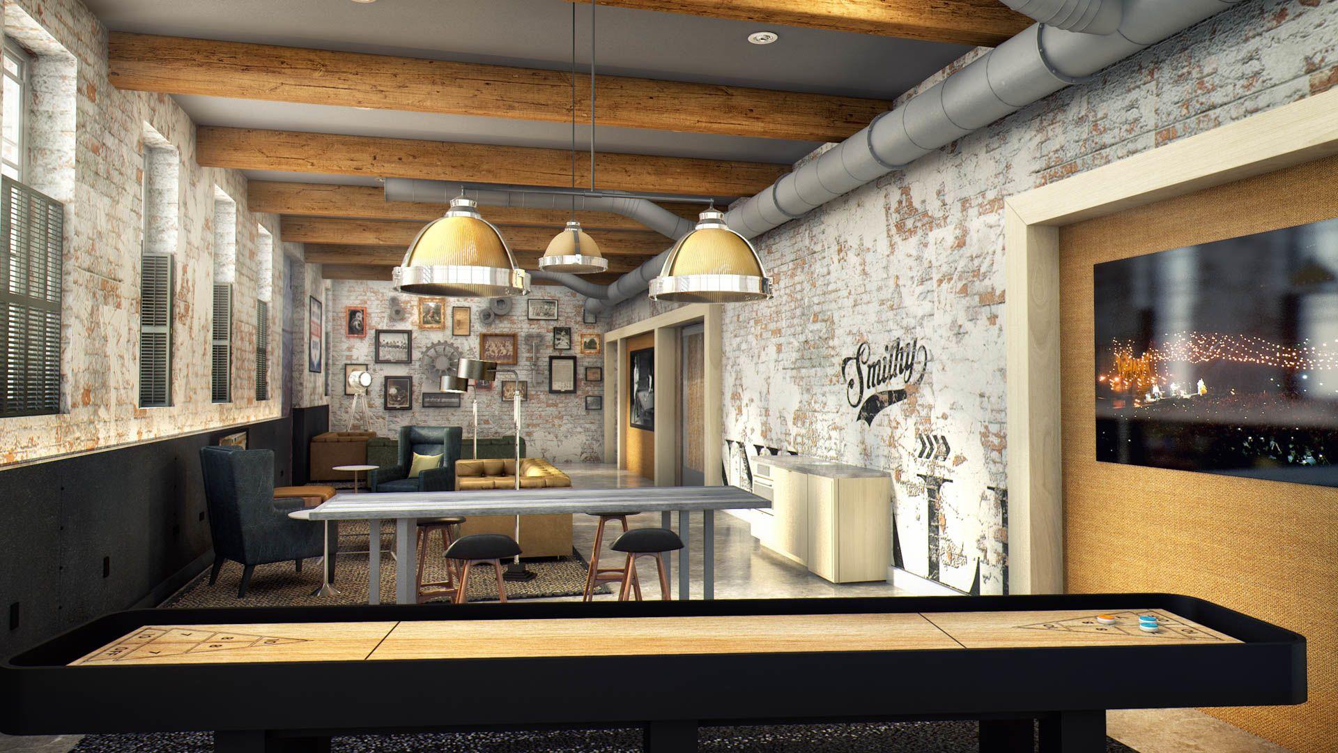 455 Eye Street Apartments - Club Room