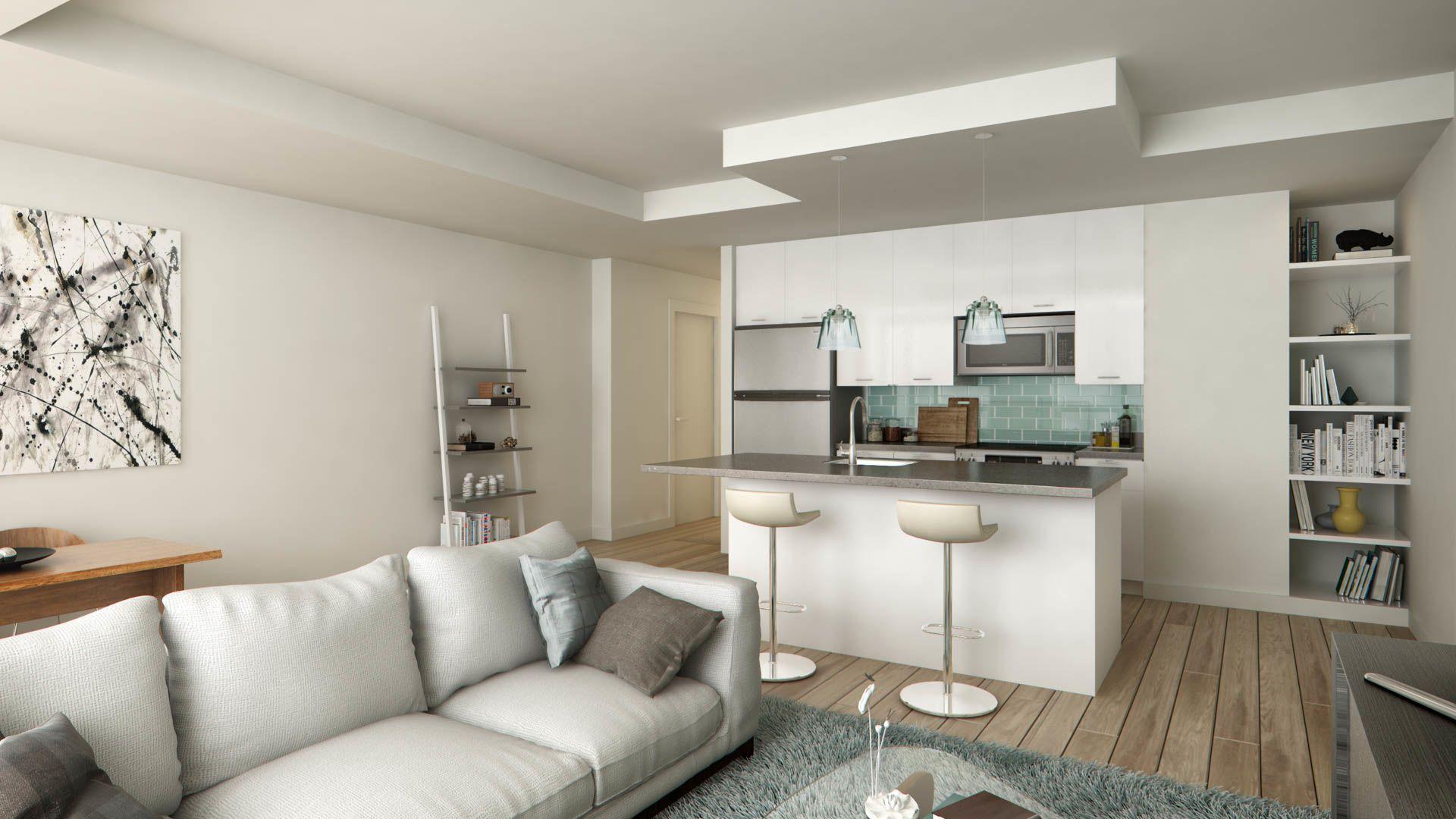 455 Eye Street - Living Room
