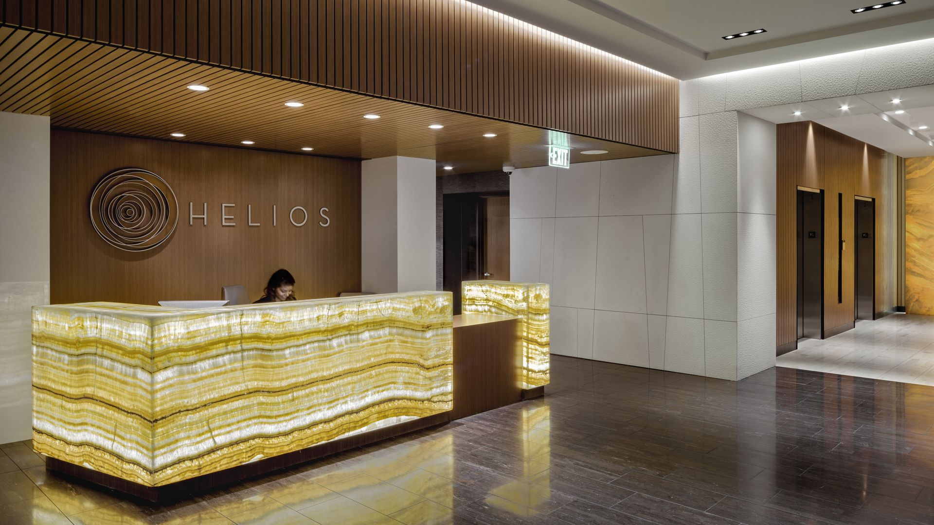 Helios Apartments - Lobby