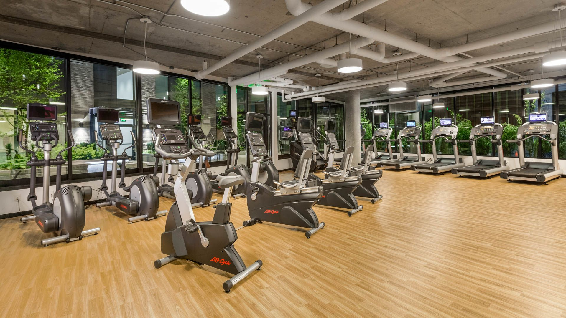 Cascade Apartments - Fitness Center