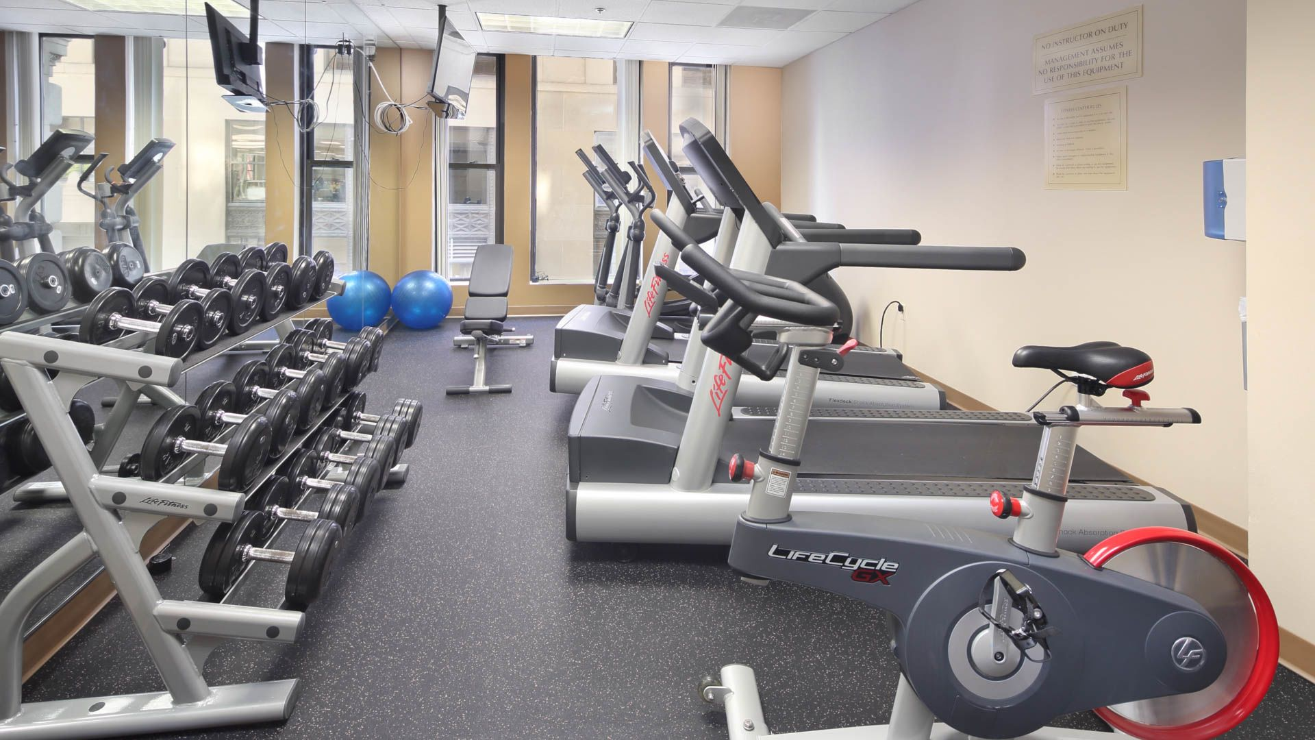 One India Street Apartments - Fitness Center