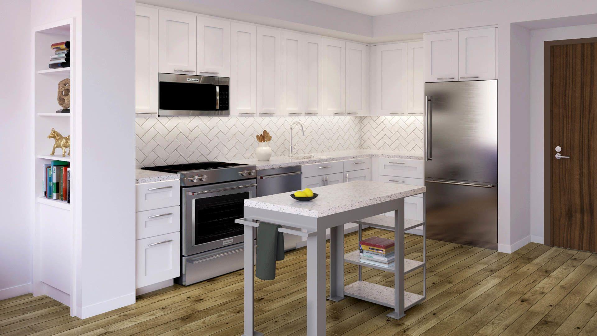 100K Apartments - Kitchen