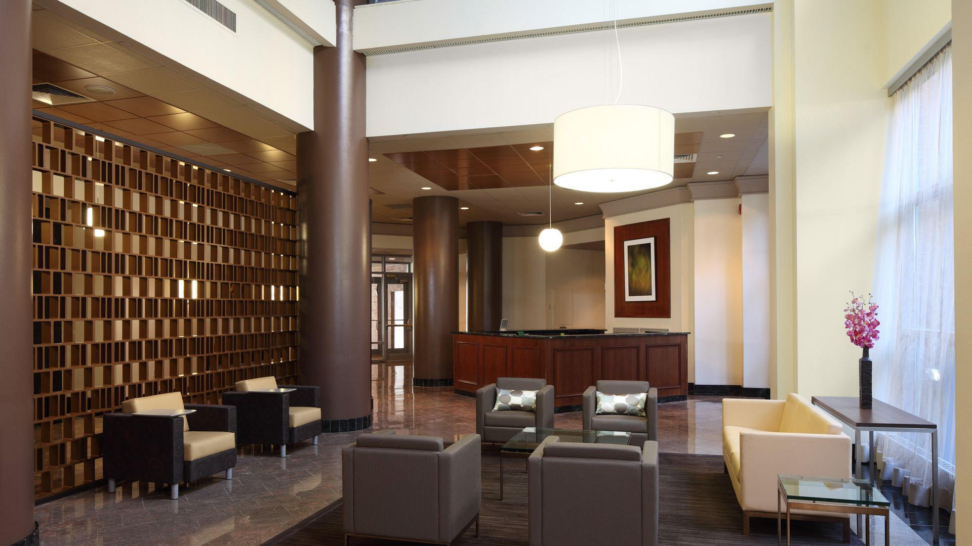 Portside Towers Apartments   Building Portside Towers Apartments   Lobby ...