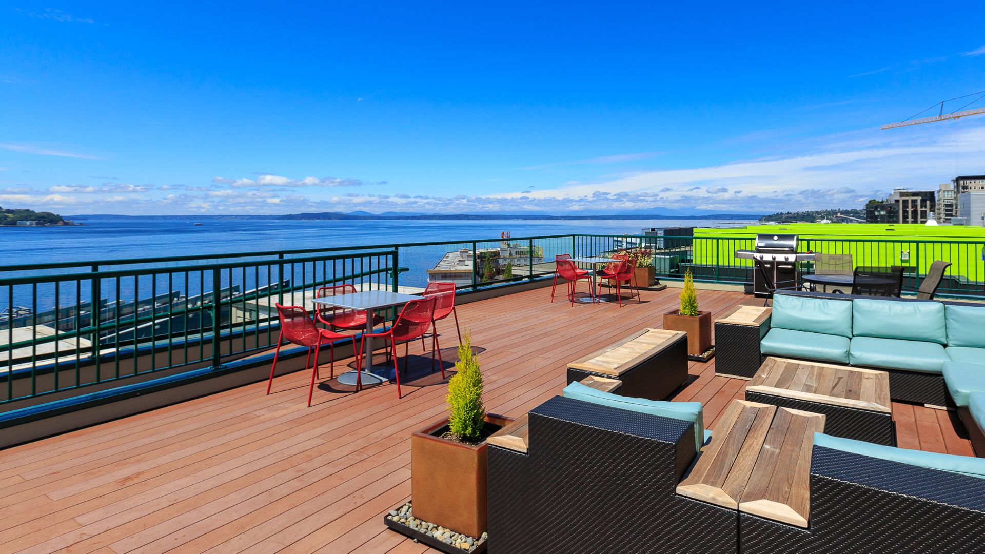 2300 Elliott Apartments - Rooftop