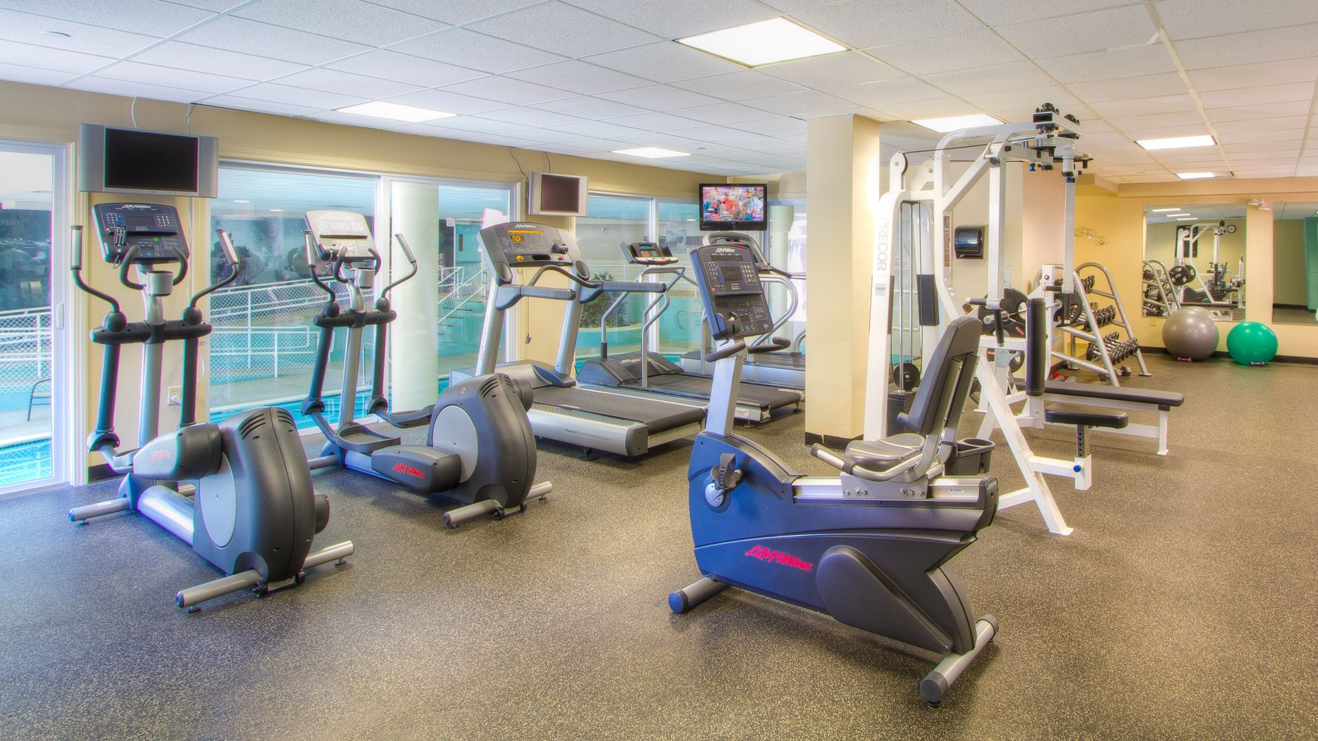 Rosecliff Apartments - Fitness Center