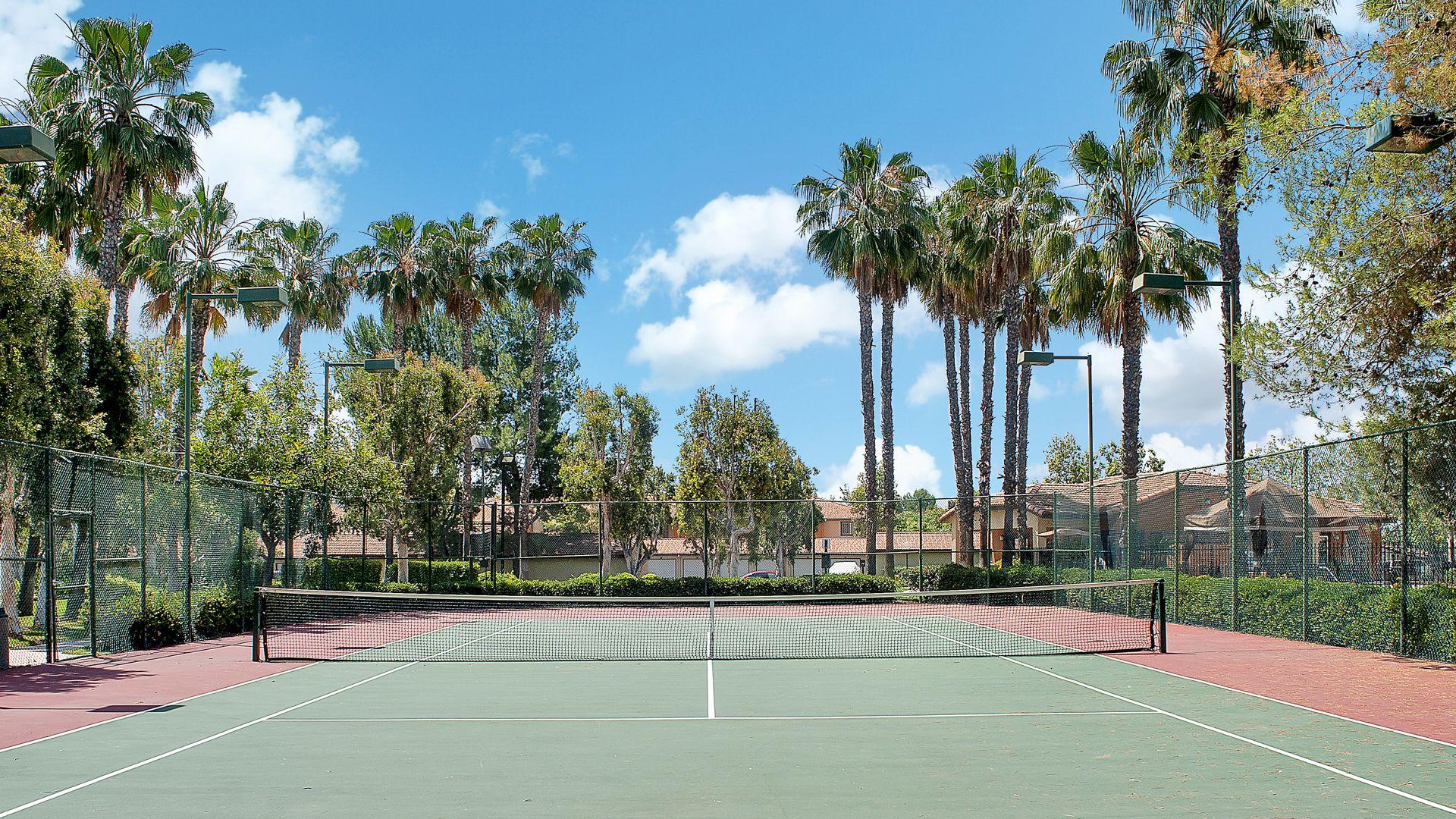 Siena Terrace Apartments Tennis Court
