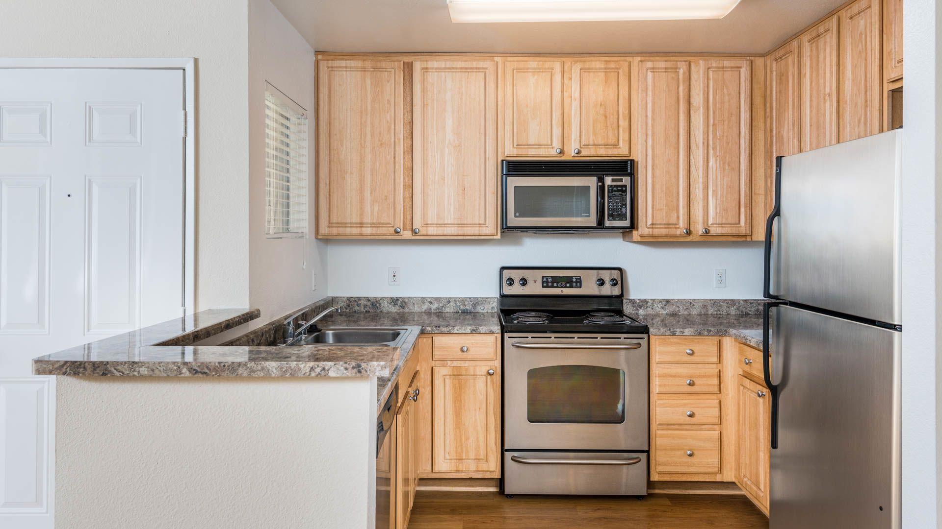 Carmel Terrace Apartments - Kitchen