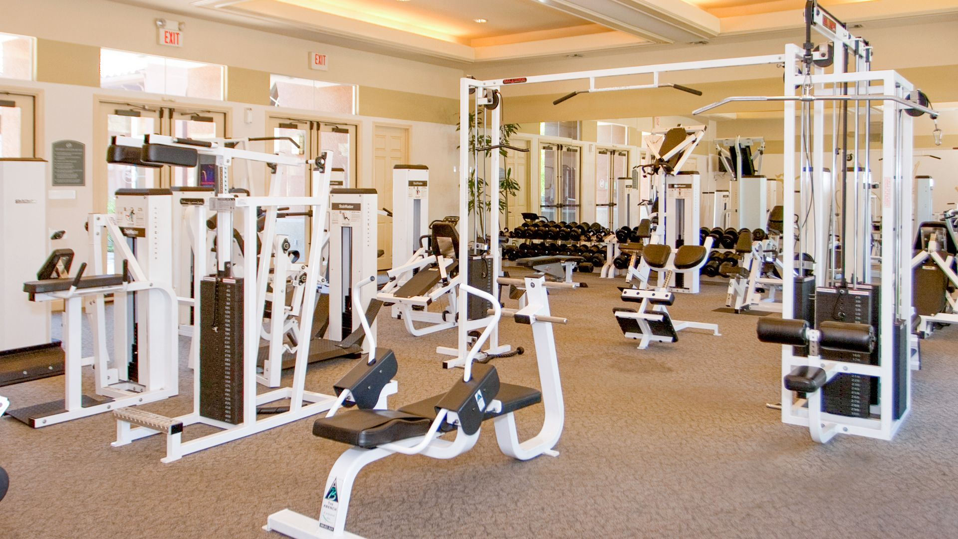 The Oaks Apartments - Fitness Center