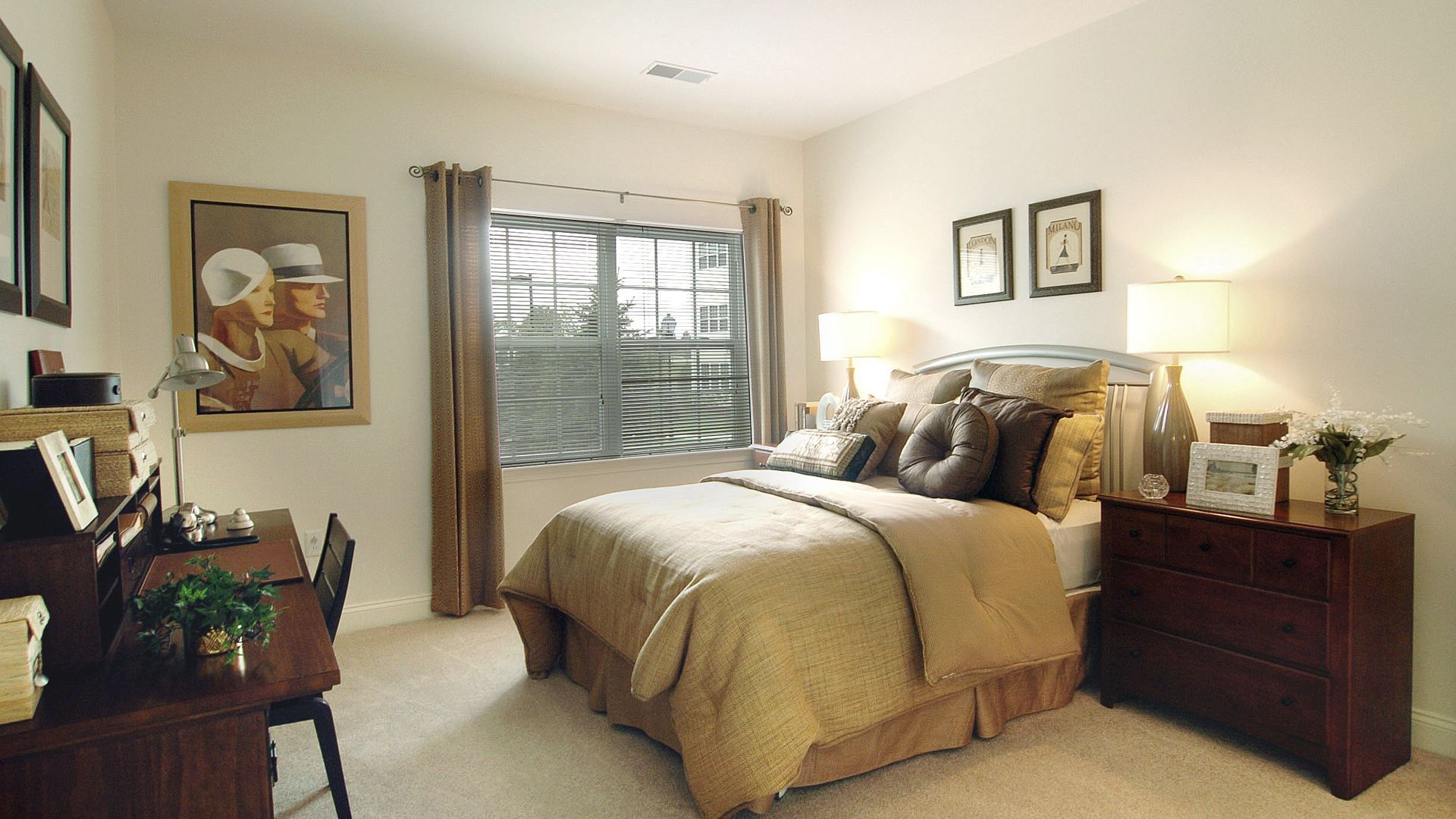 Heritage at Stone Ridge Apartments - Bedroom