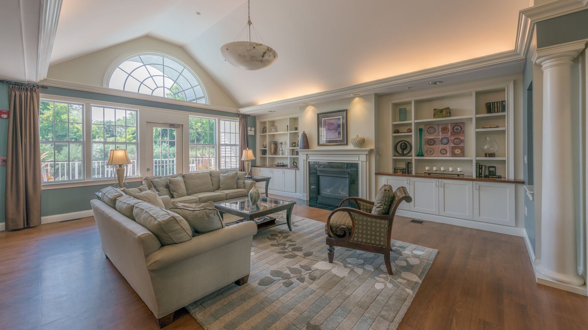 Heritage at Stone Ridge Apartments - Clubhouse
