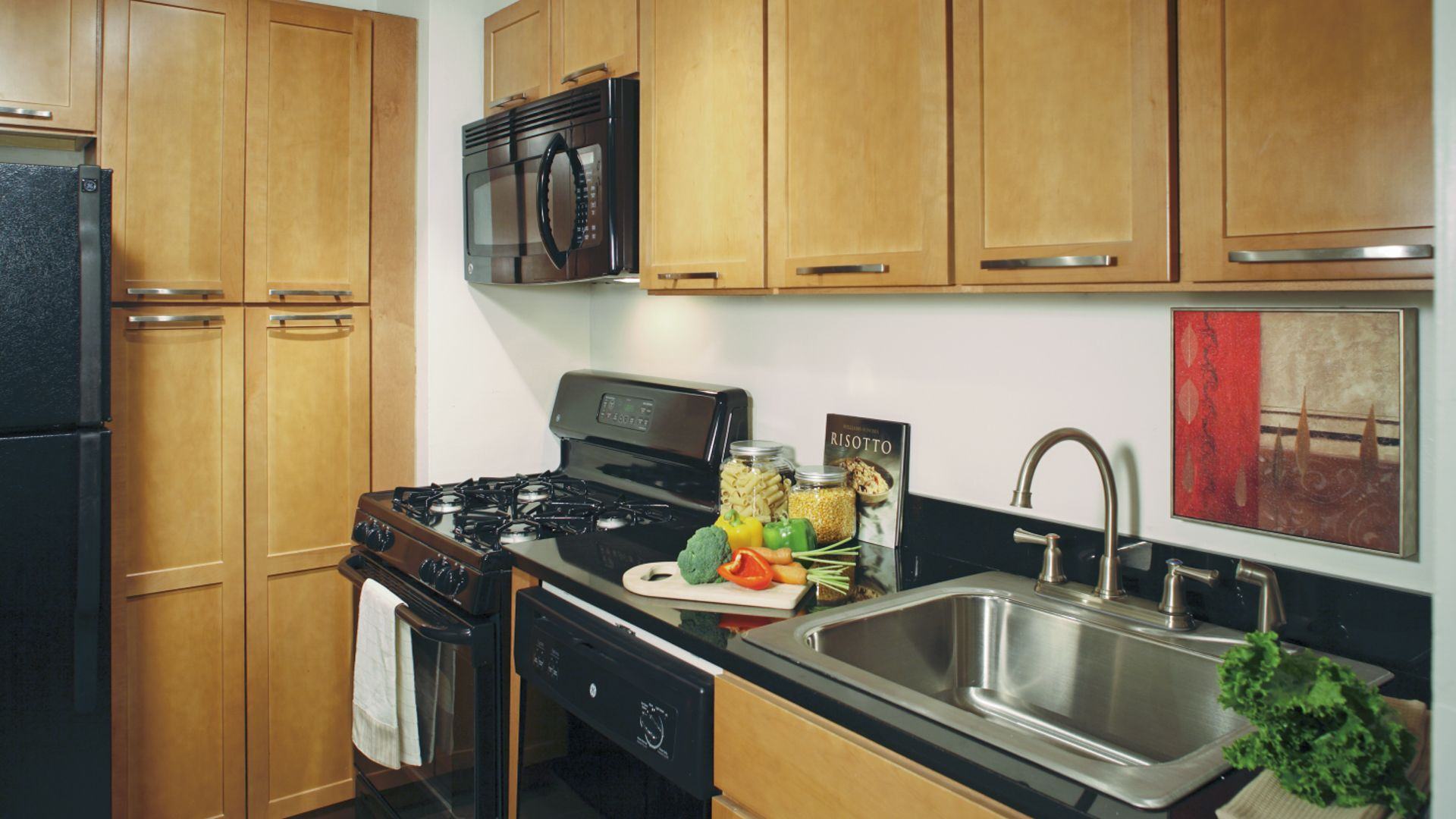 420 East Street Apartments - Kitchen