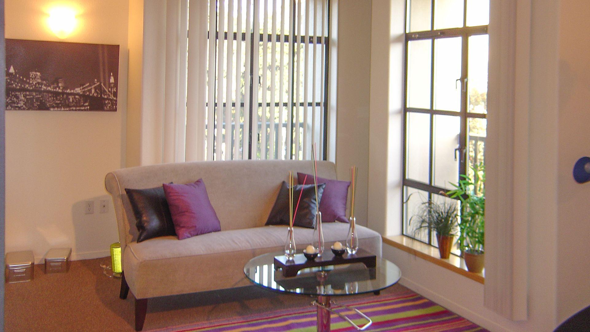 Gaia Apartments - Living Room