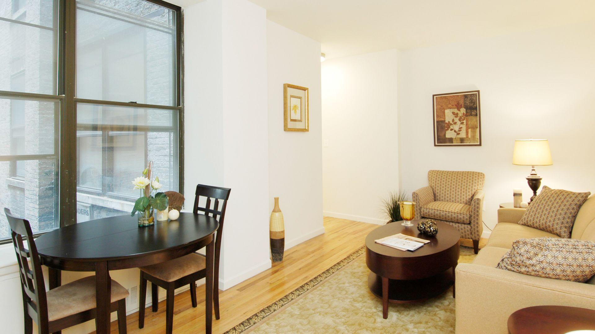 Parc 77 Apartments - Living Room