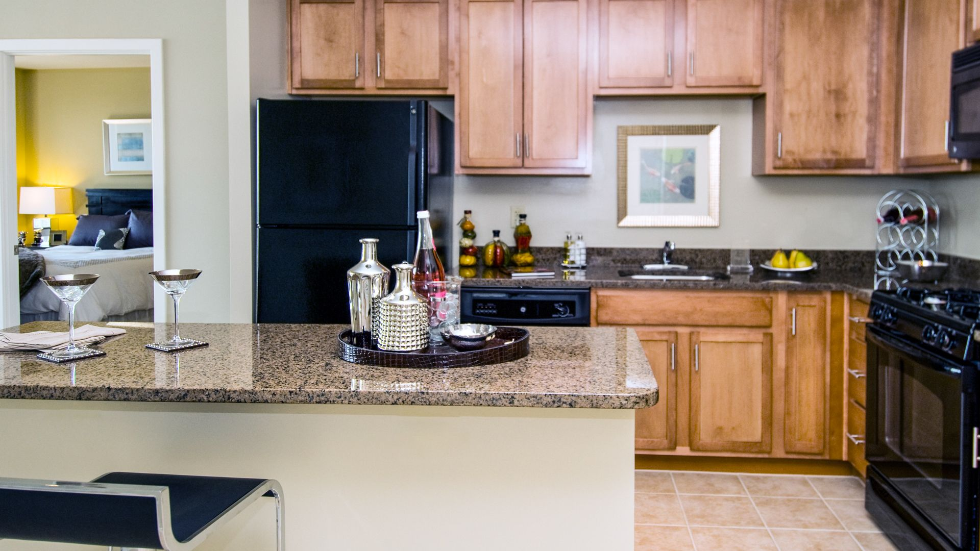The Veridian Apartments - Kitchen