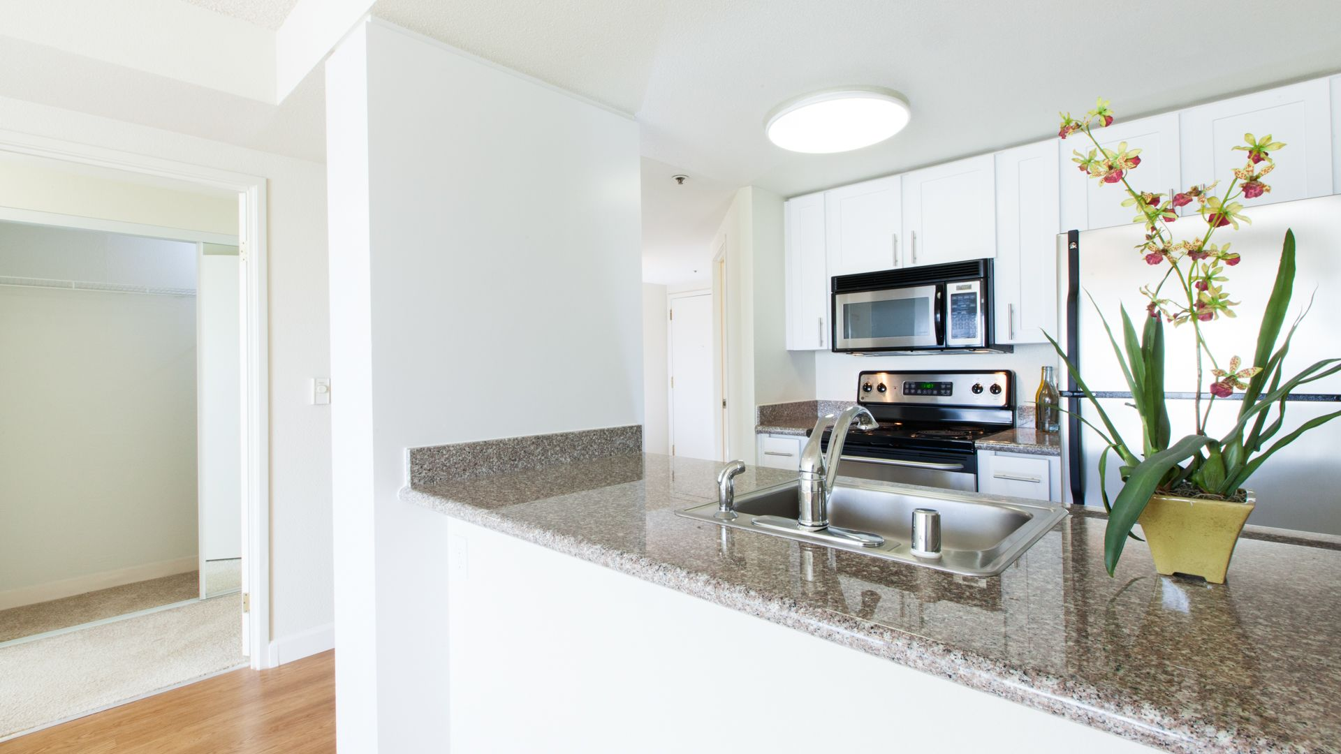 Geary Courtyard Apartments - Kitchen