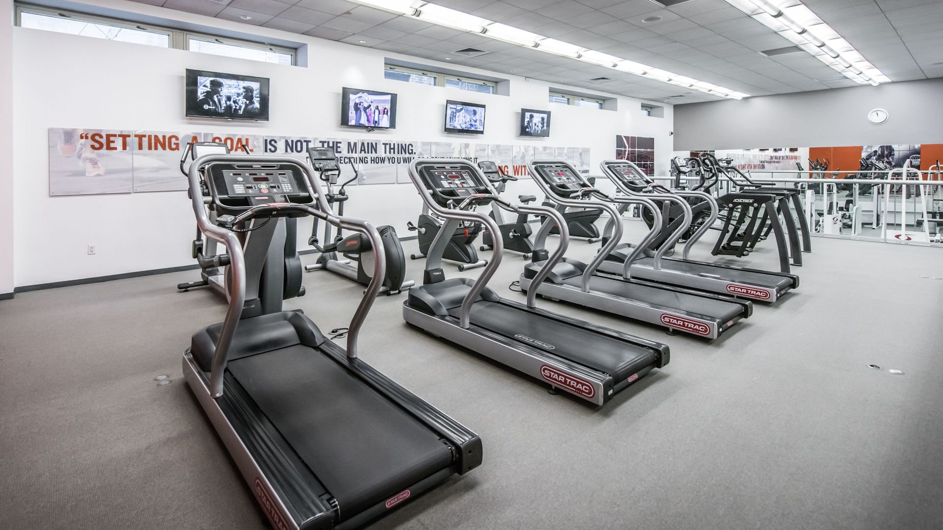 Longacre House Apartments - Fitness Center