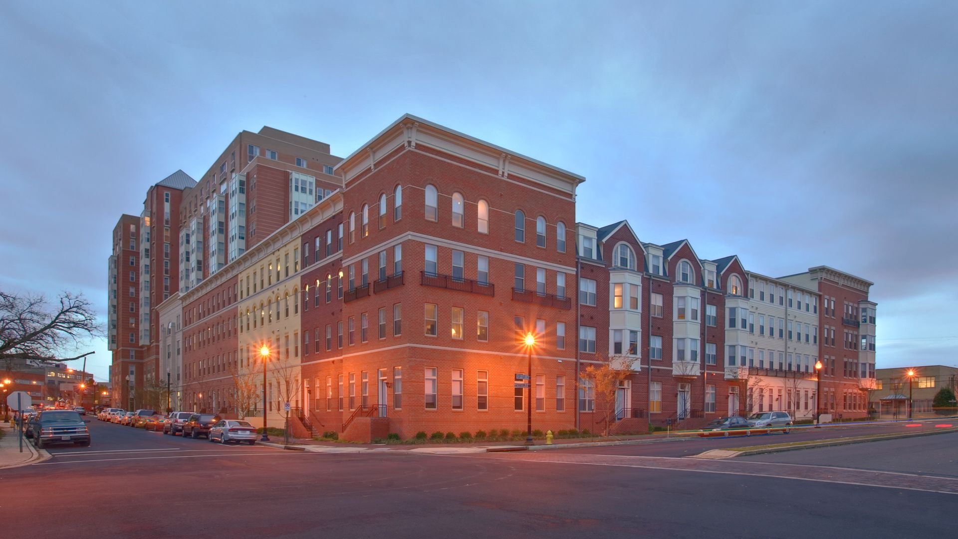 The Clarendon Apartments - Building