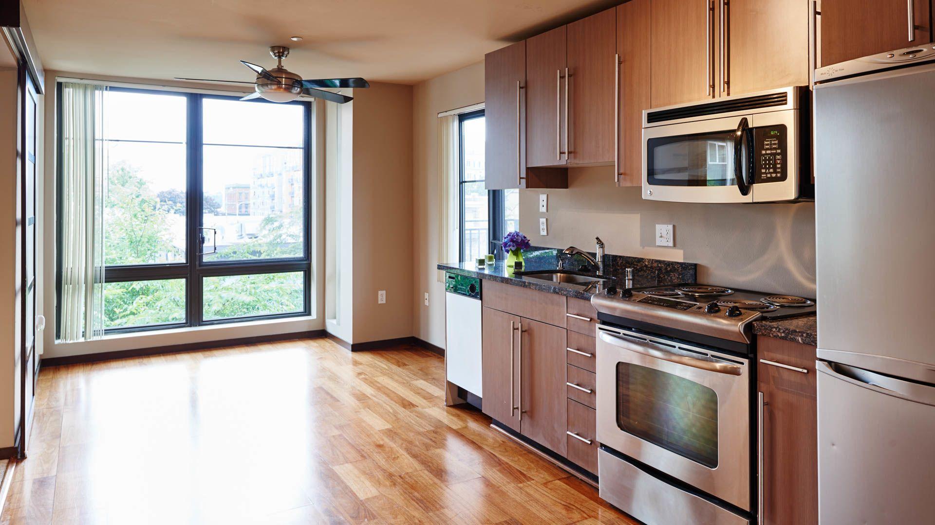 Moda Apartments - Kitchen
