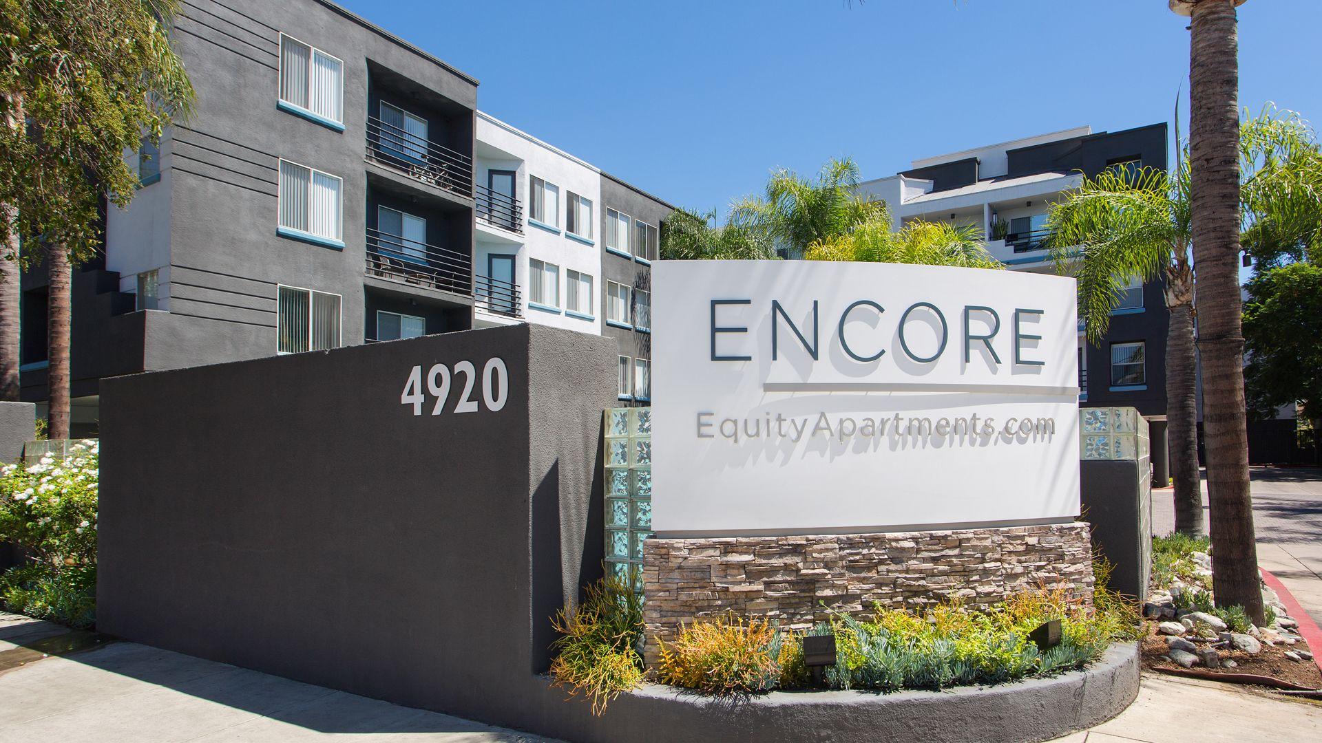 The Encore - Entrance