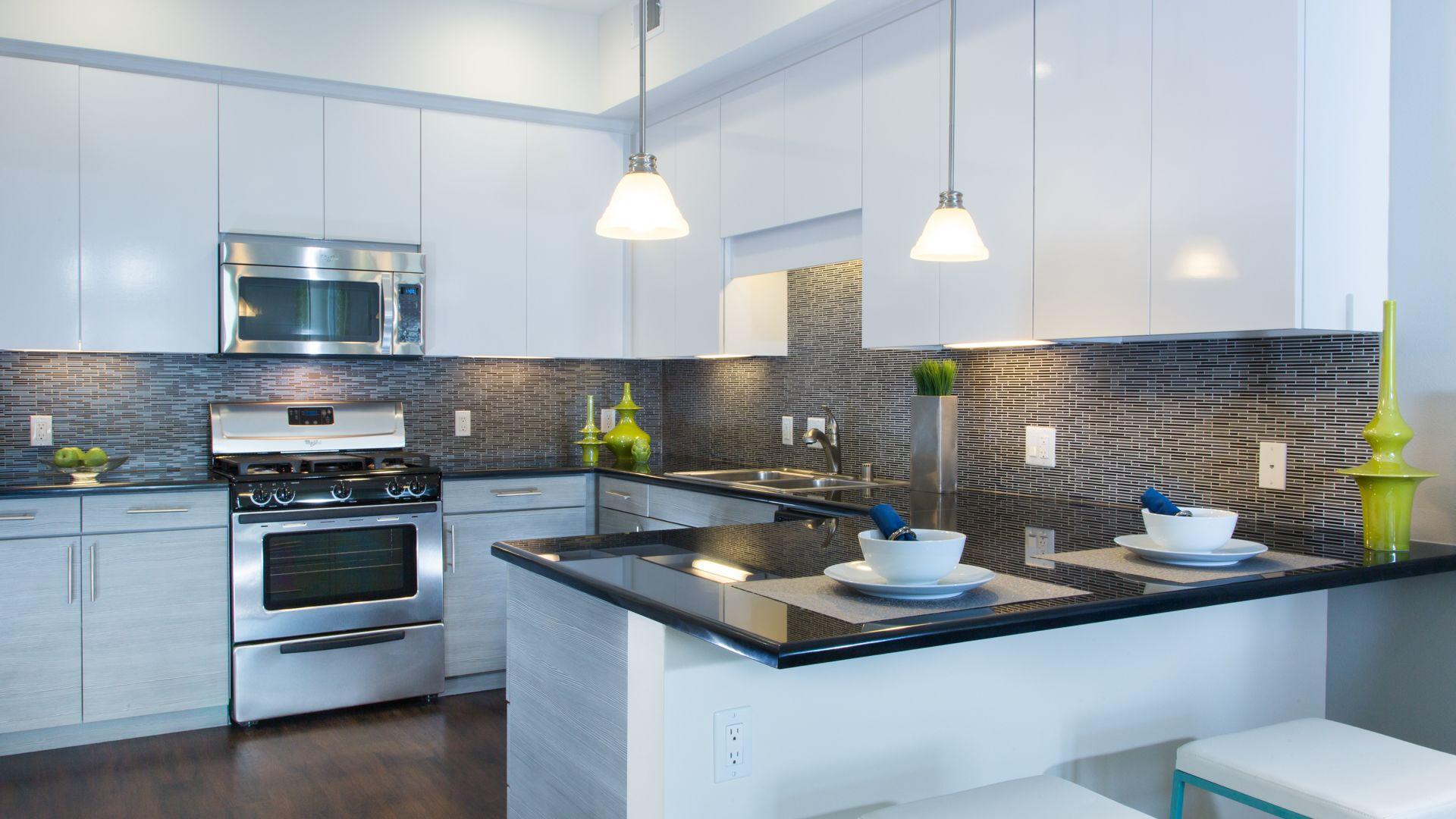 Domain Apartments - Kitchen