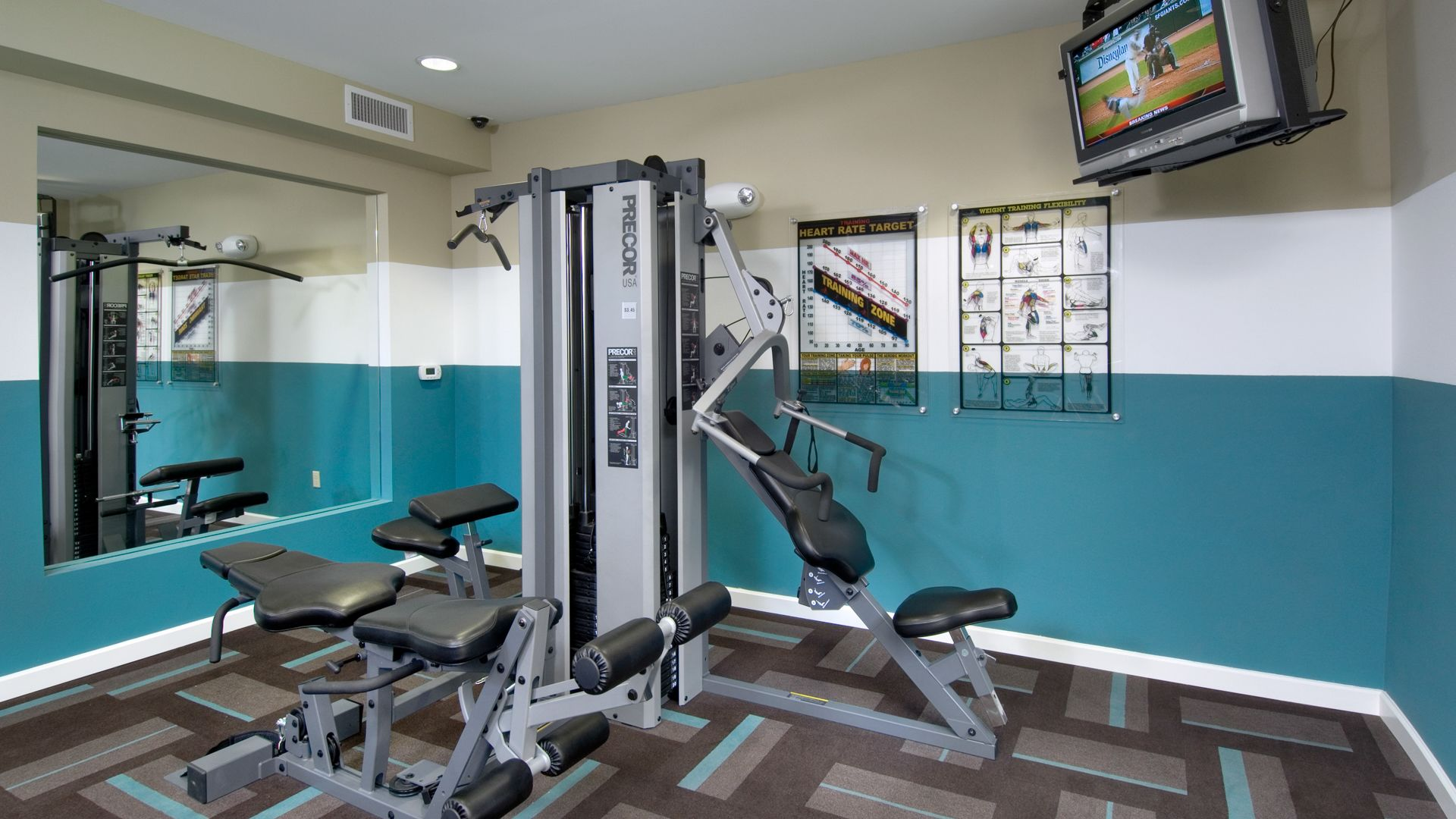 South City Station Apartments - Fitness Center