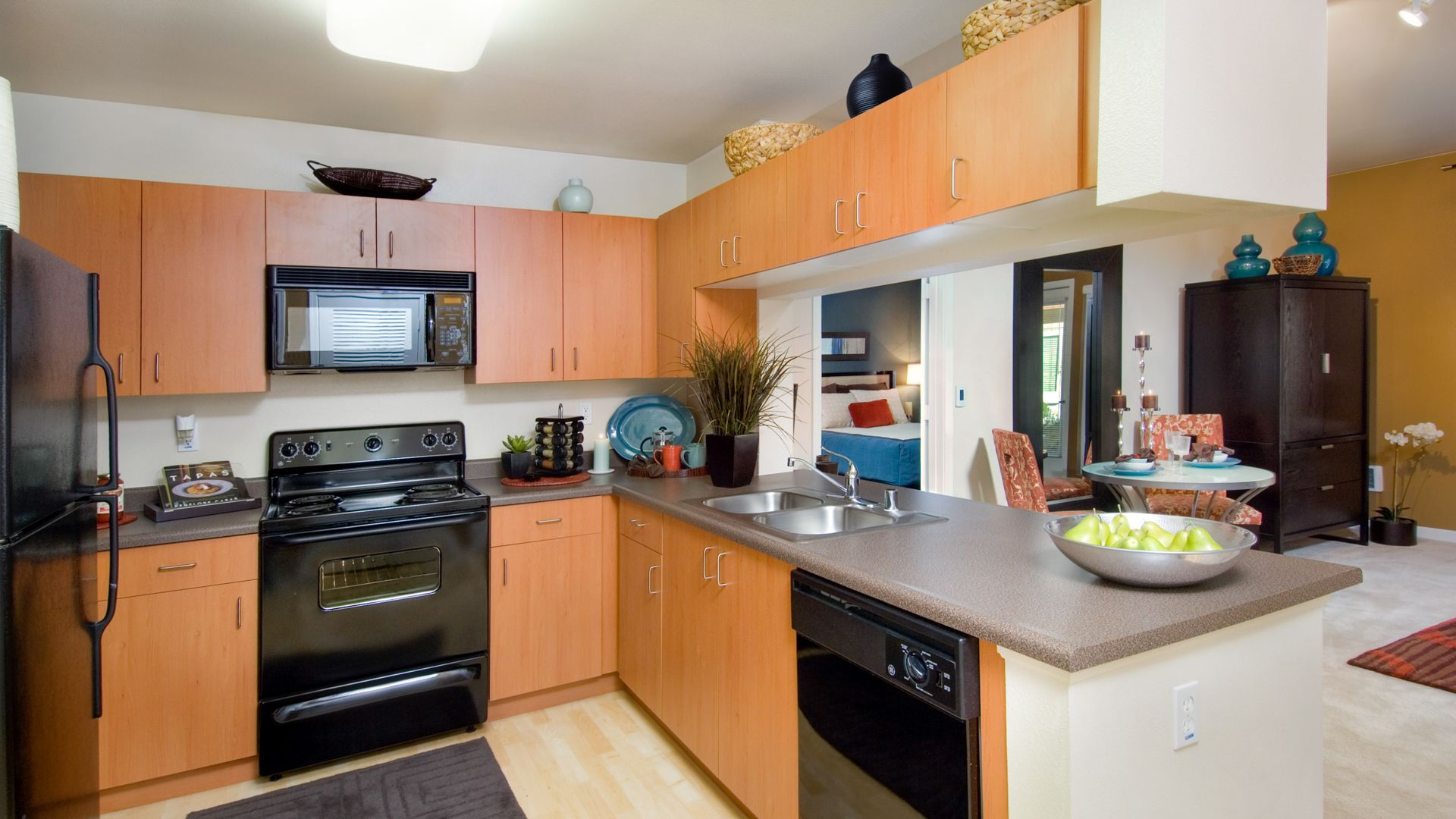South City Station Apartments - Kitchen