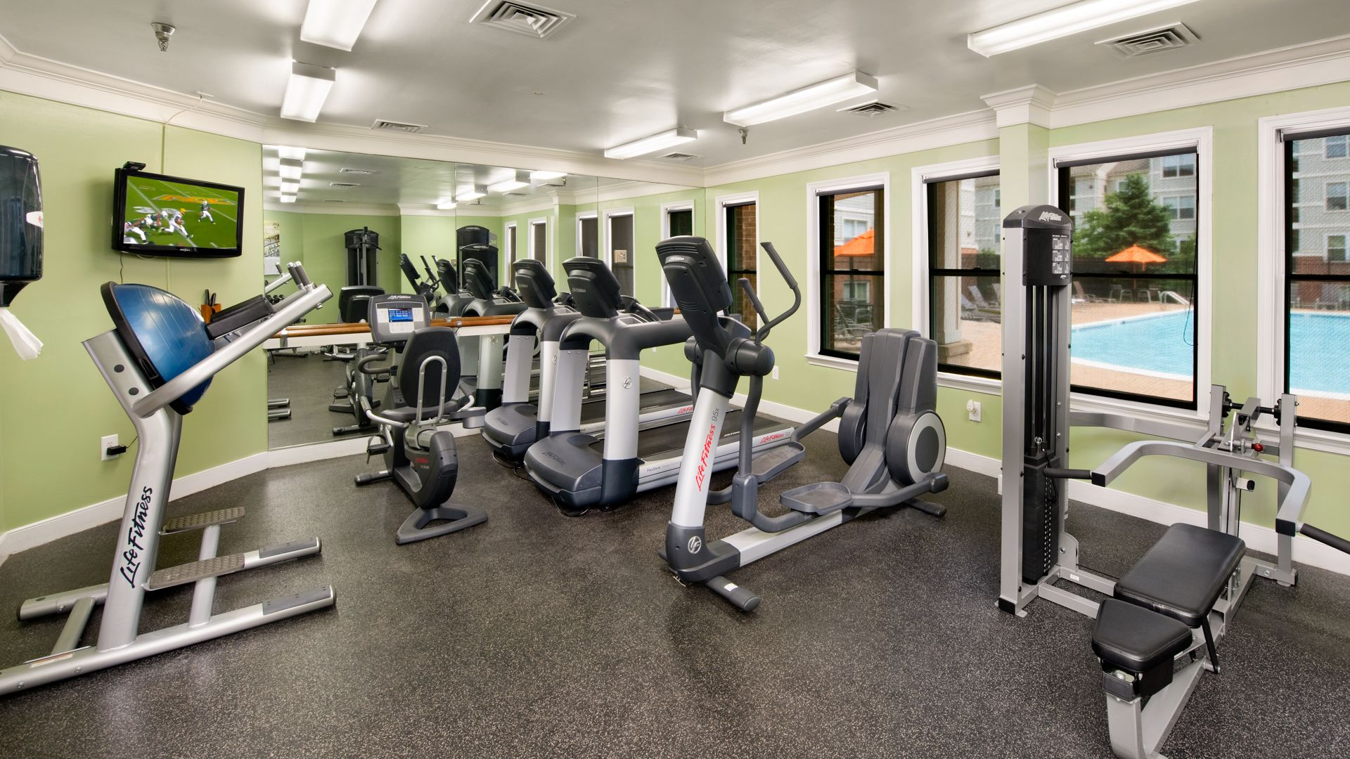 Columbia Crossing Apartments - Fitness Center