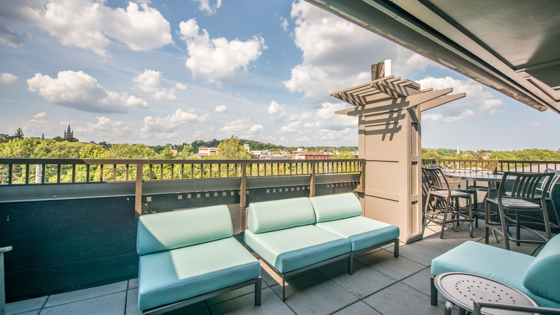 Watertown Square Apartments Rooftop Deck