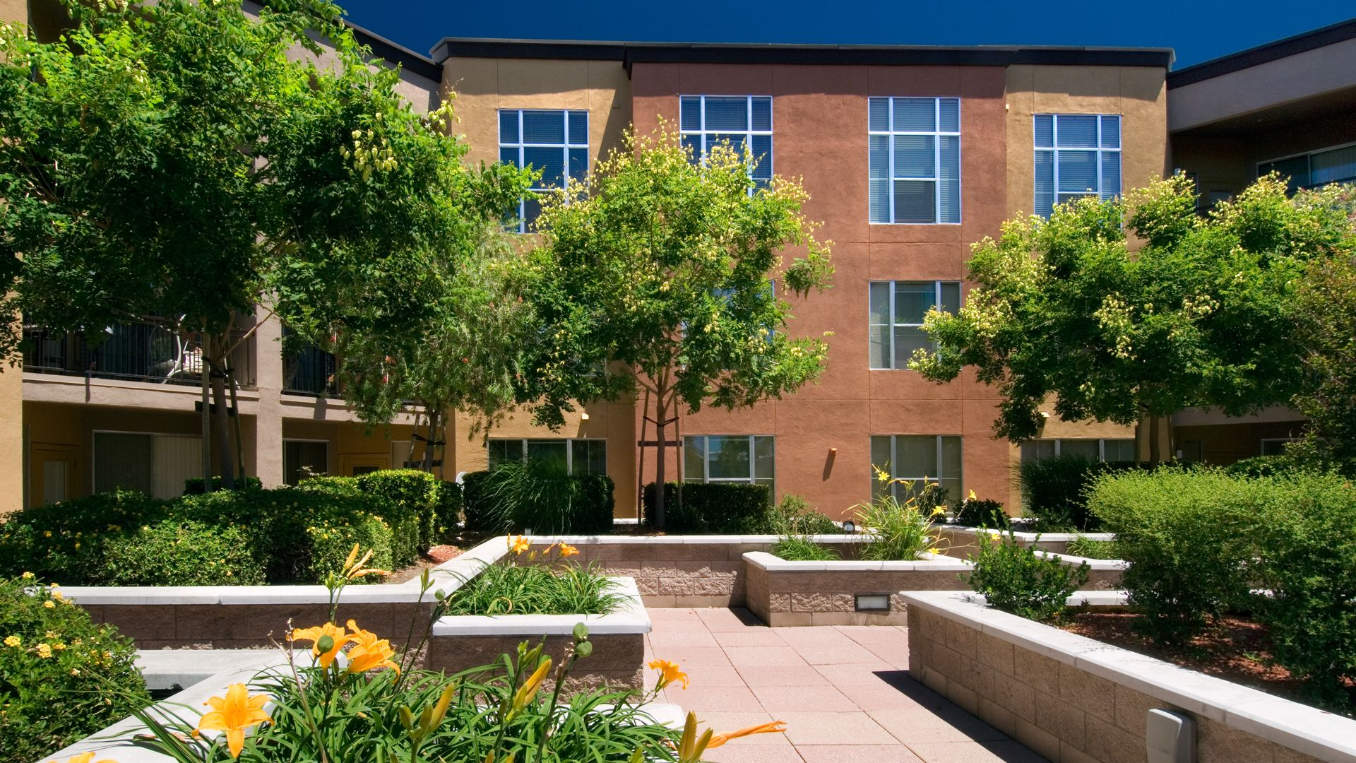 Archstone Fremont Center Apartments - Courtyard