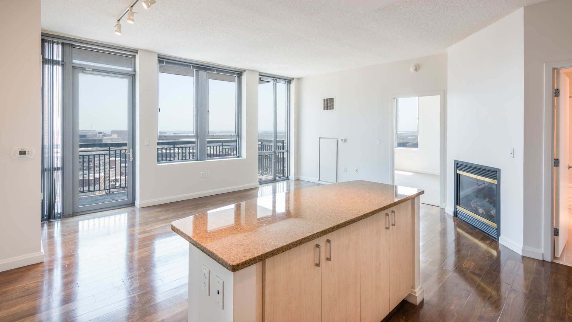 660 Washington Apartments - Living Room