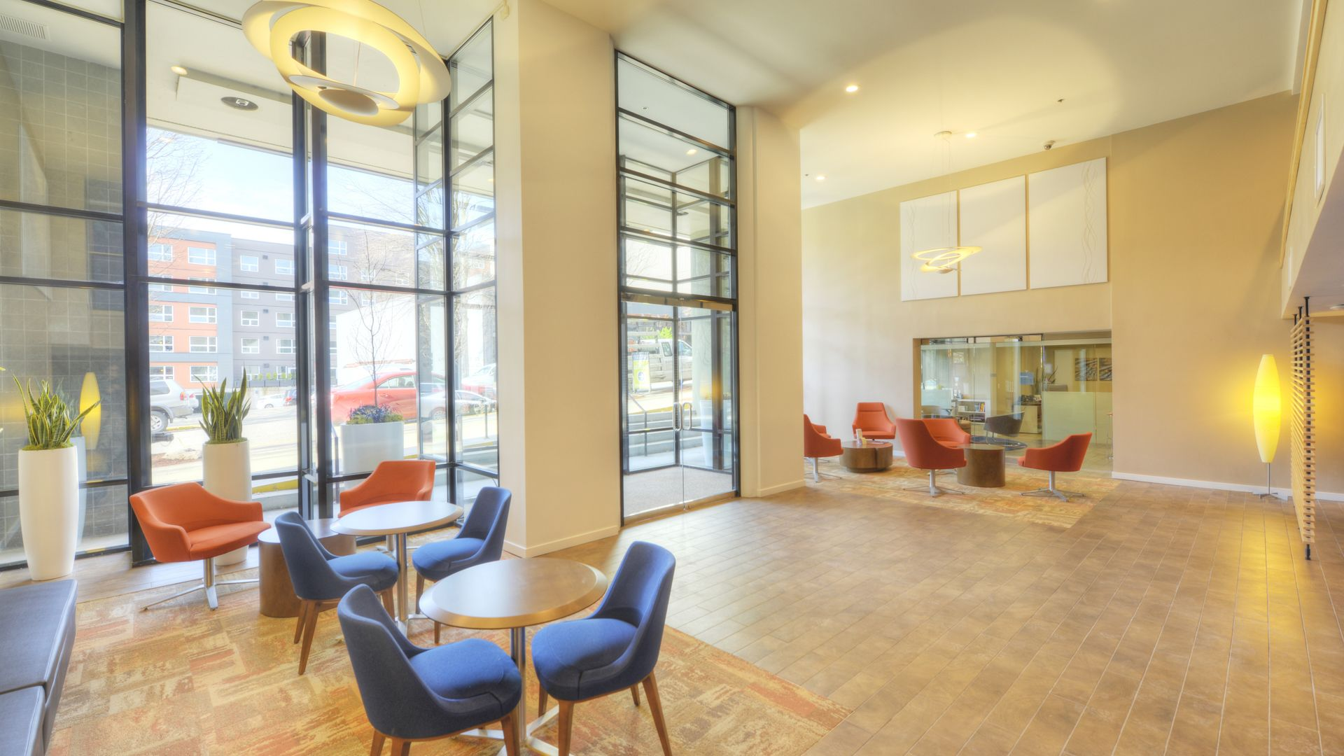 Harrison Square Apartments - Lobby