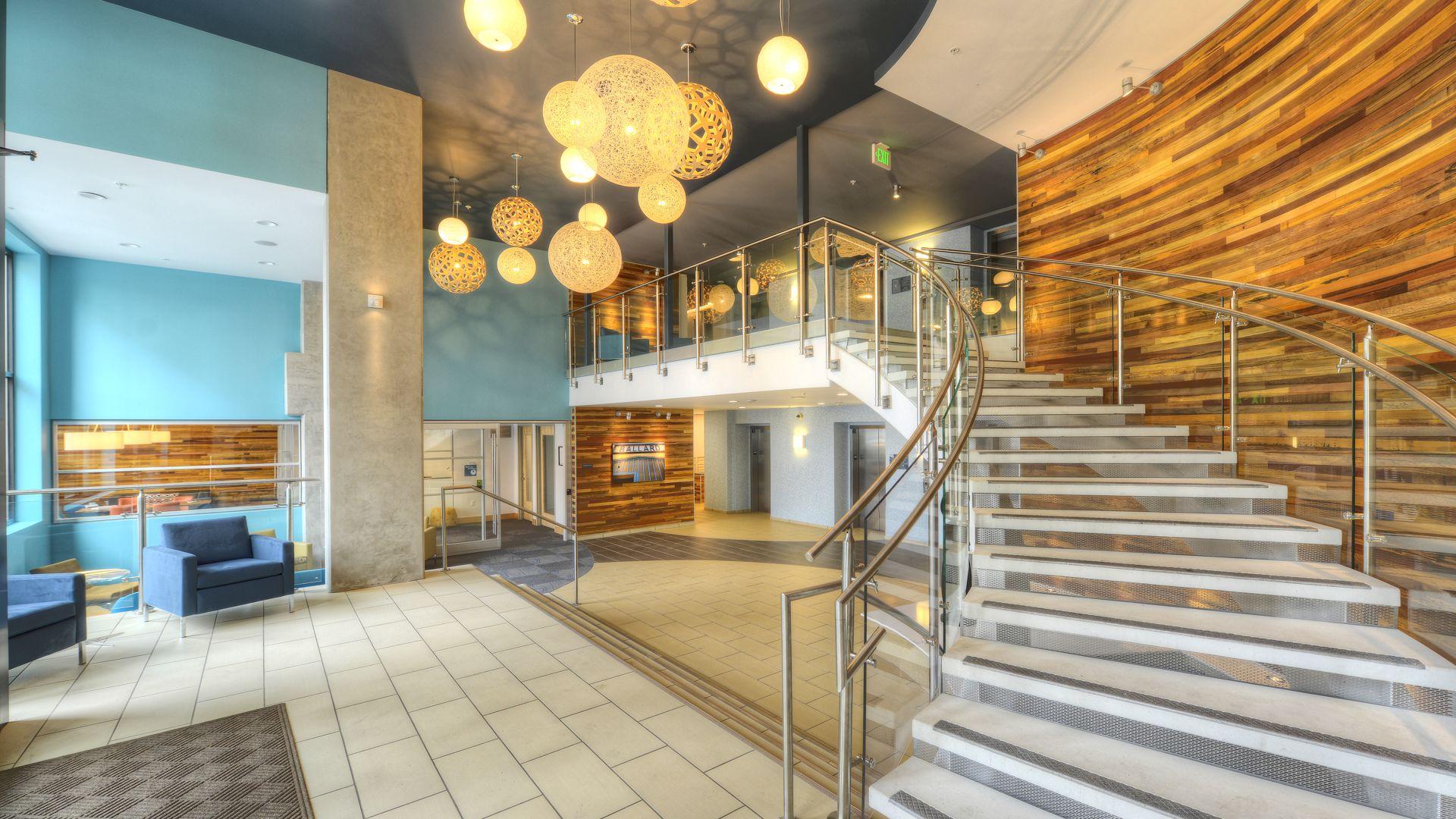 Urbana Apartments - Lobby