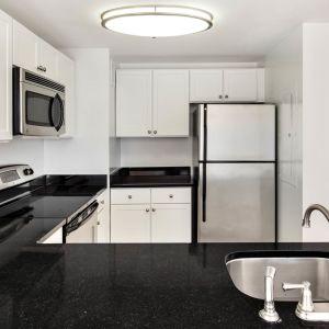 Kitchen Apartment portside towers apartments - downtown jersey city - 155 washington