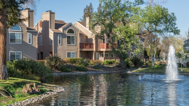 Wood Creek Apartments - Pond