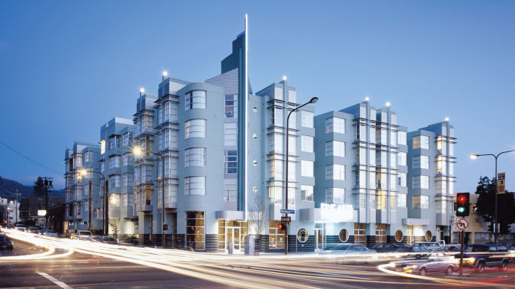 Fine Arts Apartments - Building