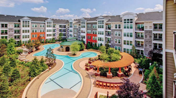 Gaithersburg Station Apartments - Building