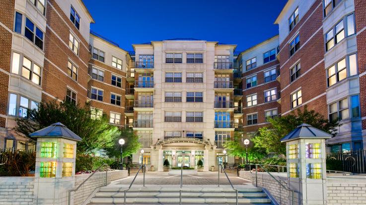 Park Connecticut Apartments - Building