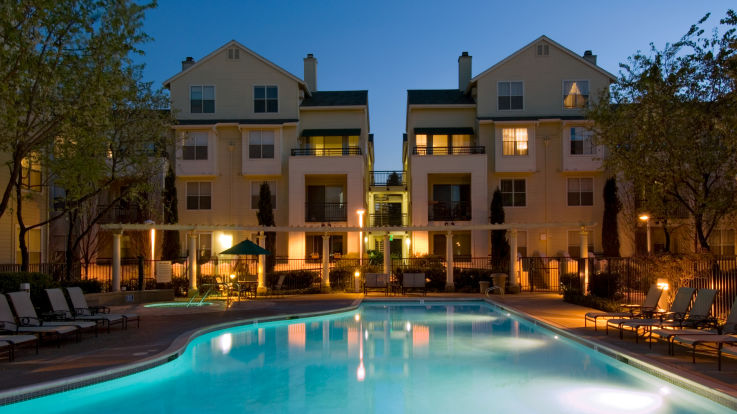 City Gate at Cupertino Apartments - Pool