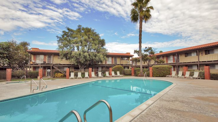 Regency Palms Apartments - Swimming Pool