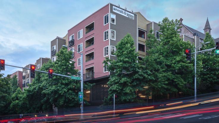 Seventh and James Apartments - Exterior