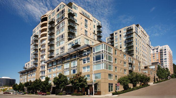 Olympus Apartments - Exterior