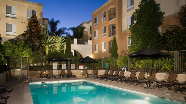 City Pointe Apartments - Heated Swimming Pool