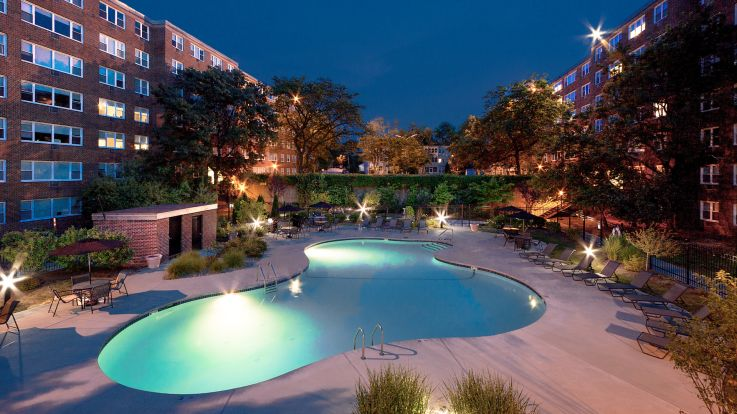 Walden Park Apartments - Pool and Patio