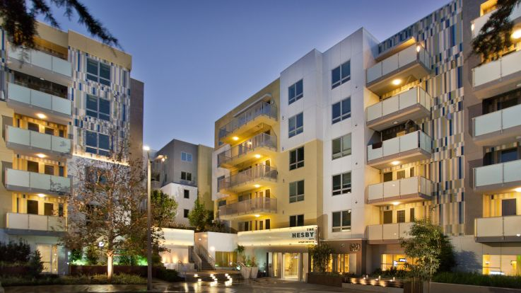 The Hesby Apartments - Exterior