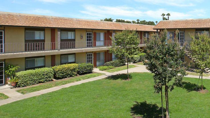 Regency Palms Apartments - Courtyard