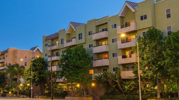 Park West Apartments - Exterior