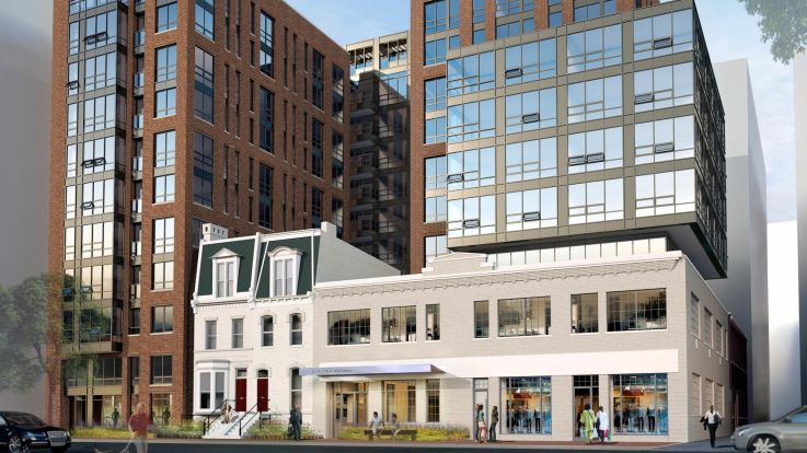 455 Eye Street Apartments - Exterior
