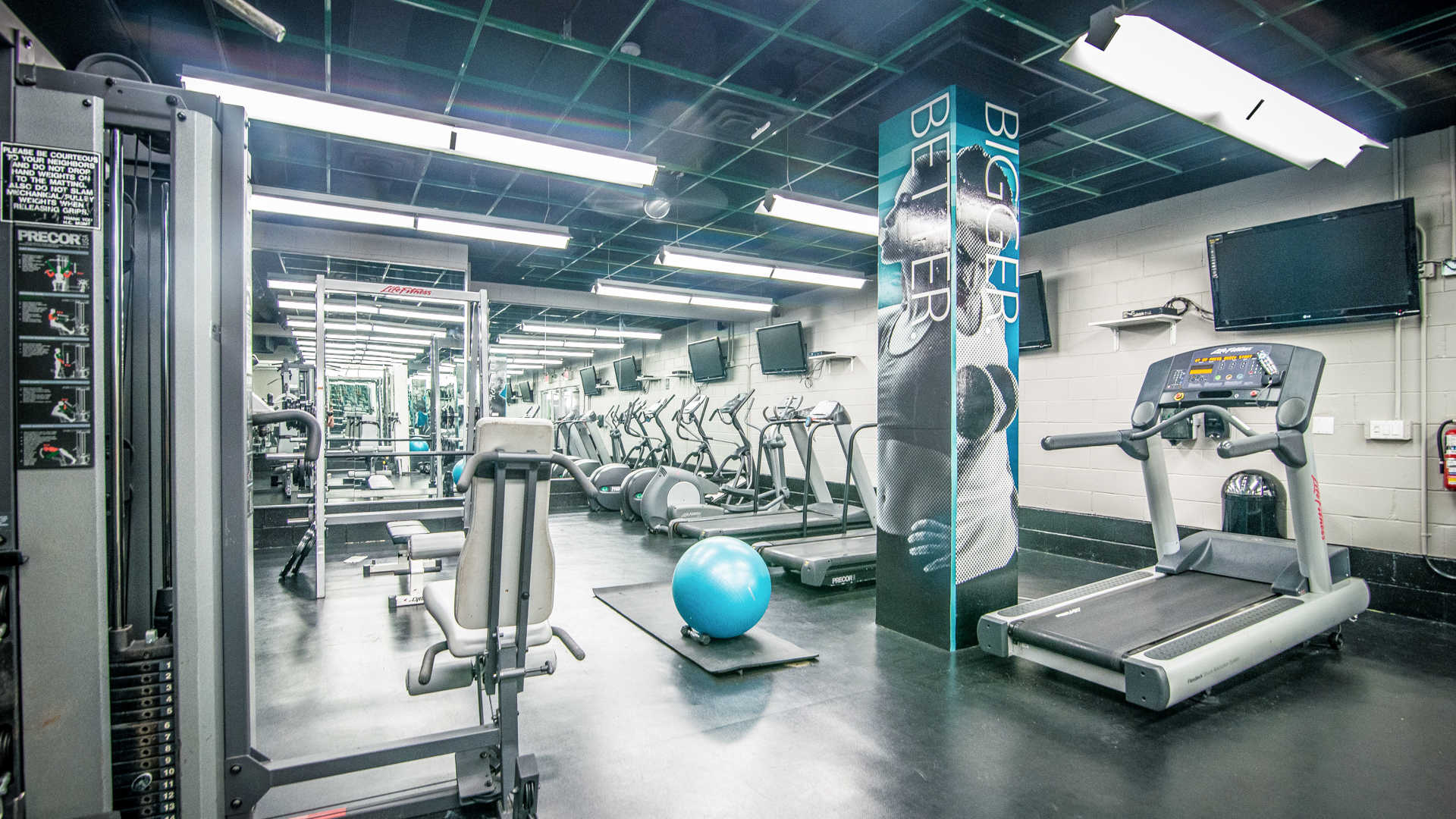Hudson crossing apartments fitness center
