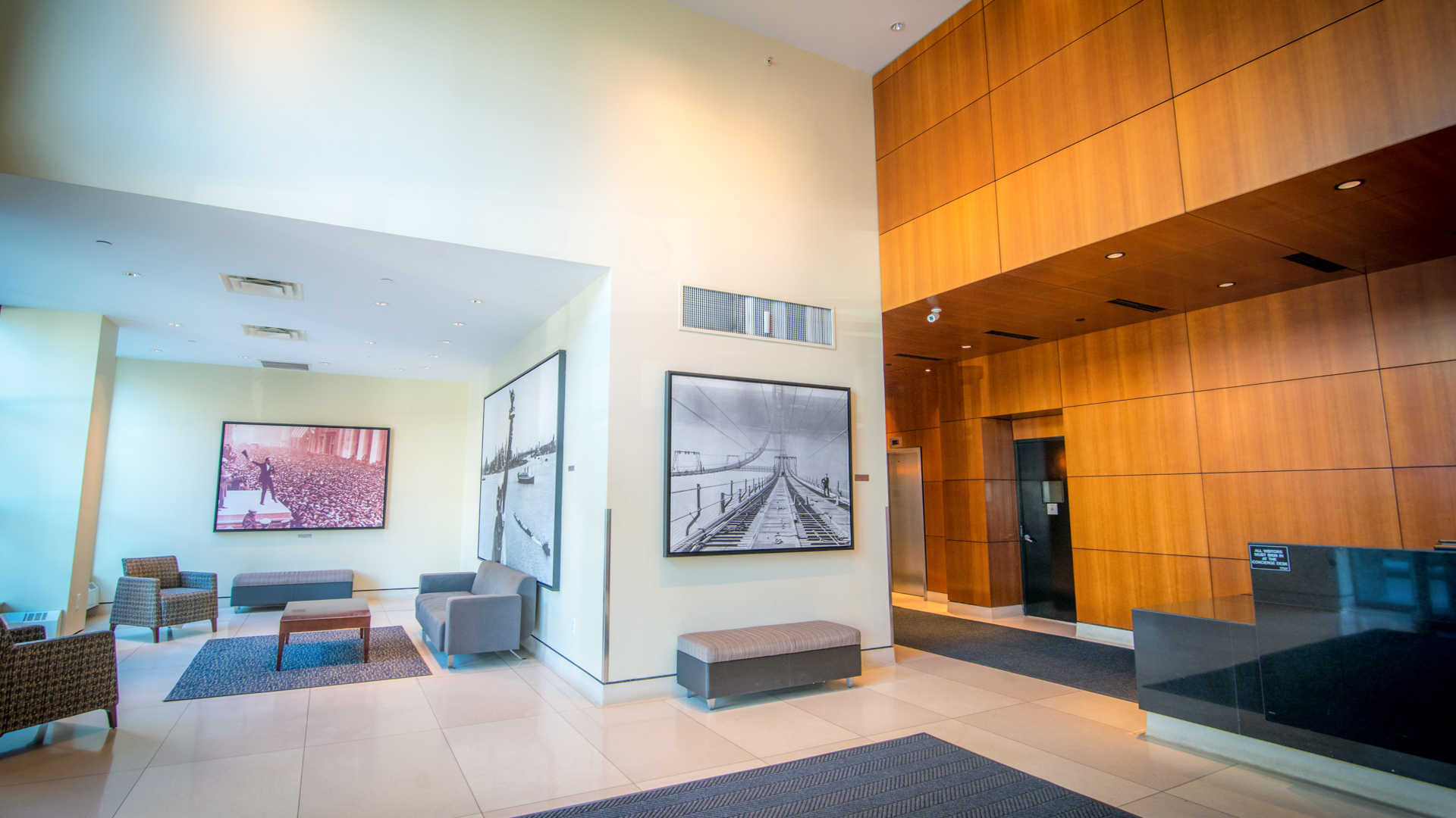 Hudson crossing apartments lobby